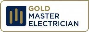 Gold Master Electrician Logo