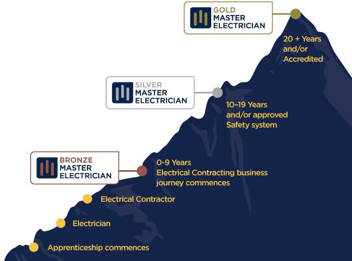 Gold Master Electrician Logo2