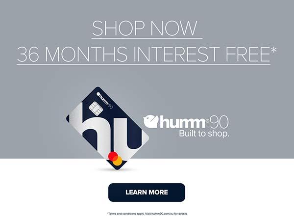 Humm90 Interest Free Shop Now 36 Months