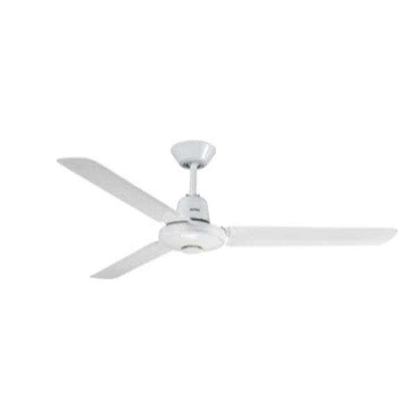 3 Blade Alum White Ceiling Fan By Clipsal 3hs1200alwe