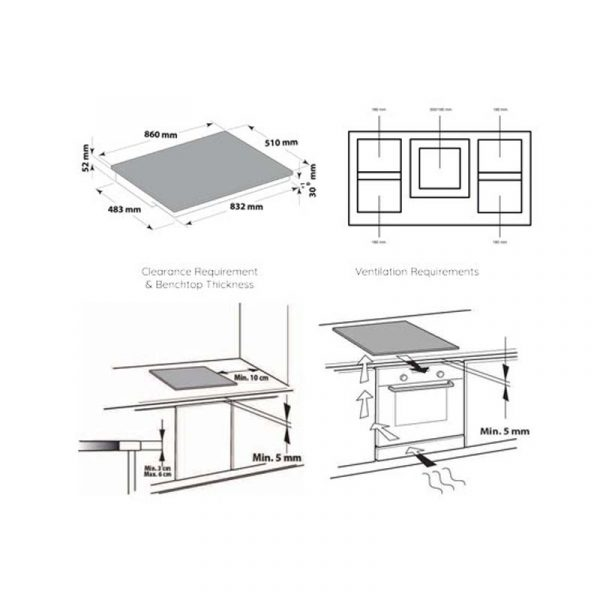 Ariston Nis952fbaus 900mm Induction Cooktop 0001 Layer 6