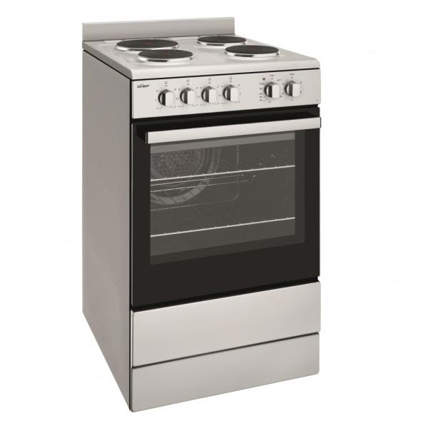 Chef Cfe536sb 540mm Solid Plate Electric Upright Cooker
