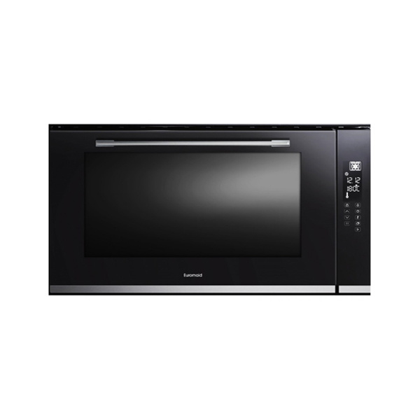 Euromaid Etd90b 900mm Black Built In Oven