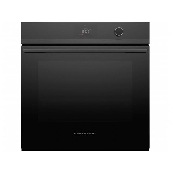 Fisher & Paykel Ob60sdptdb1 600mm Black Built In Pyrolytic Oven