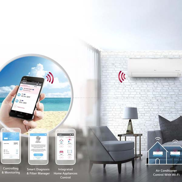 Lg 9.4kw Wh34sr 18 With Wifi (r32) Split System Air Conditioner 0001 Layer 3