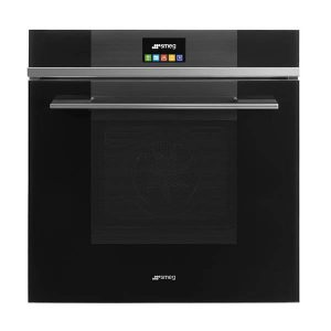 Smeg 0001 Sfpa6104tvn 600mm Linea Black Thermoseal Pyrolytic Oven