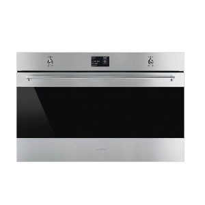 Smeg 0002 Sfp9395x1 900mm Stainless Steel Classic Thermoseal Pyrolytic Oven