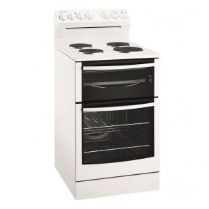 Westinghouse Wle535wb 540mm White Solid Plate Electric Upright Cooker
