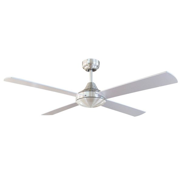 Tempo 48 Ceiling Fan Brushed Chrome